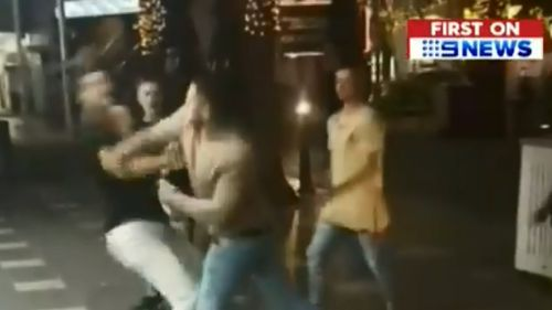 Taliesin Tardrew-O'Meara, 19, was punched at Surfers Paradise in November. (9NEWS)