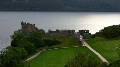Castle Urquhart sits right on the Loch and saw many skirmishes between the English and Scottish.