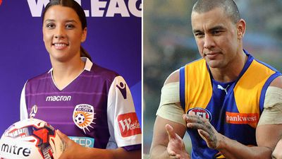 Former AFL star Daniel Kerr wants sister Sam to play AFLW with West Coast Eagles
