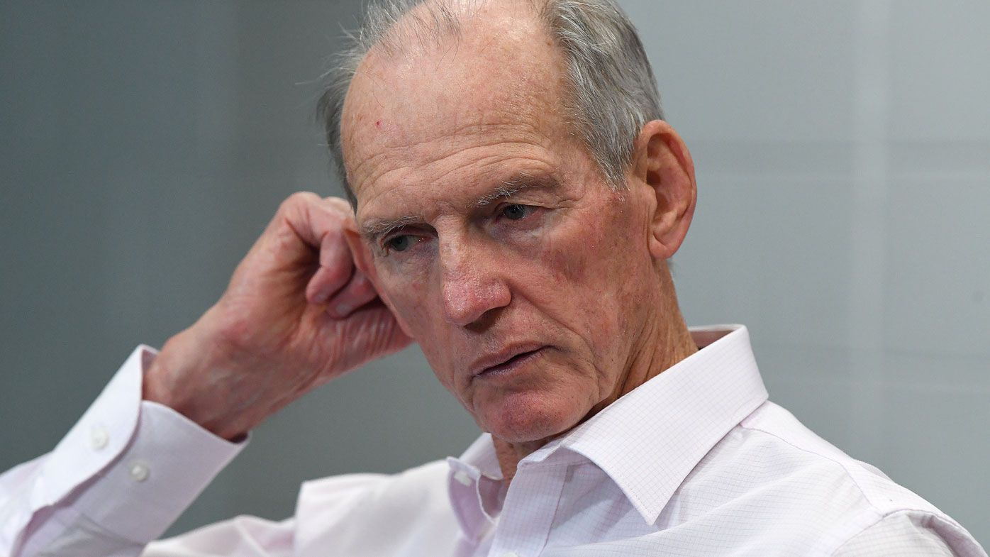 Wayne Bennett denies having contact with Penrith over potential move