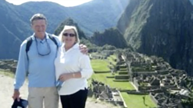 Mr McCormack booked a flight as soon as he learned of his mother's diagnosis.