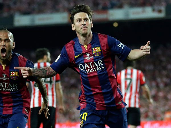 Messi scores goal of the year contender