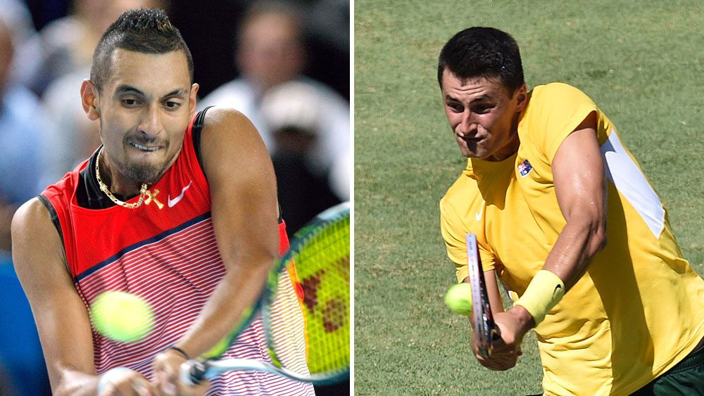 Tomic, Kyrgios could clash in quarters