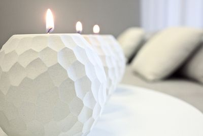 3. Use candles for ambience