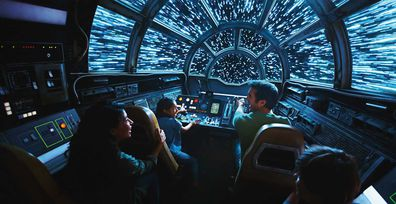 Disneyland Star Wars: Galaxy Edge - lightspeed
