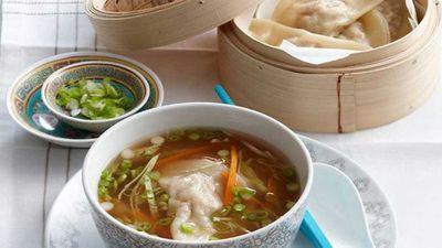 "Recipe: <a href=""http://kitchen.nine.com.au/2016/05/16/11/30/pork-dumplings"" target=""_top"">Pork dumplings</a>"