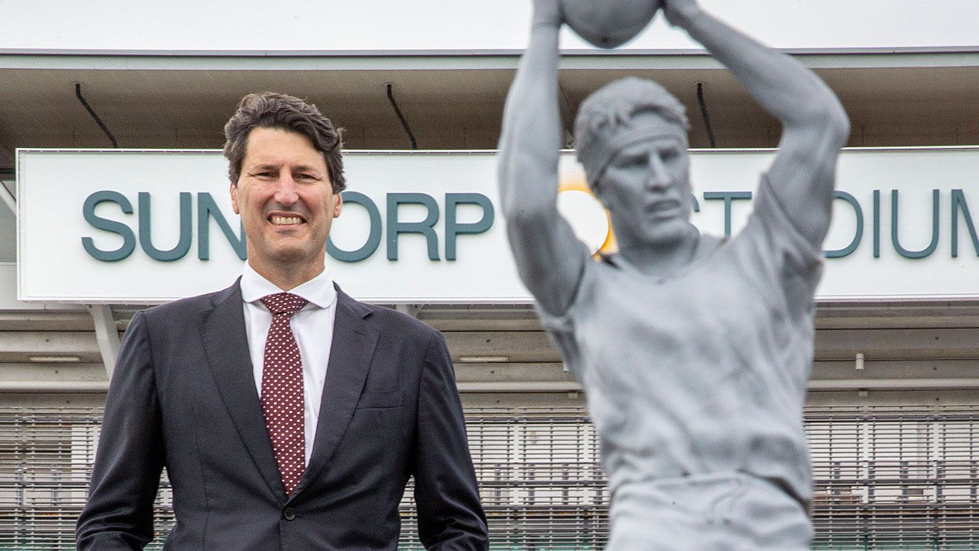 Rugby legend John Eales honoured with Suncorp Stadium statue