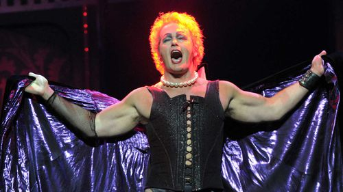 Craig McLachlan in The Rocky Horror Show. (AAP)