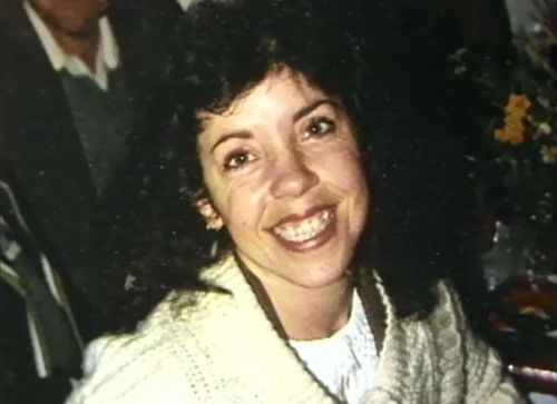 Lesley Larkin was bashed to death in her unit in 1984.