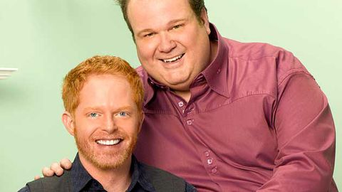 Modern Family's gay couple will actually get to kiss