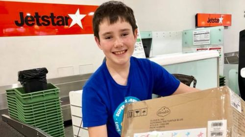 After Bryce watched his mother go through cancer treatment in 2016 he set himself a goal to raise money to buy night lights for every child fighting the disease.