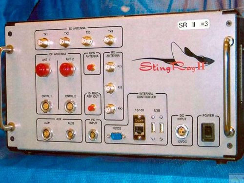 A Stingray mobile phone tracker widely used by US police forces. (Photo: AP).