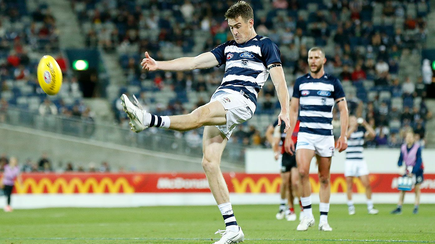 Jeremy Cameron stars as Geelong takes advantage of inaccurate young Essendon side