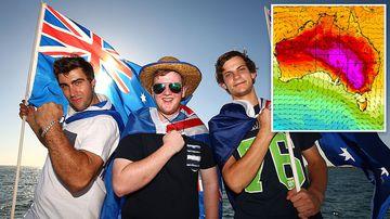 Australia Day Weather Forecast