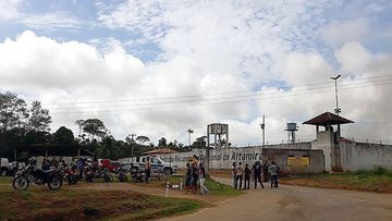 At least 52 prisoners died during clashes between rival groups inside the Altamira Regional Recovery Center. EPA/XINGU 230