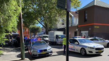 There is a major police operation underway in Surry Hills, in Sydney's inner-east.