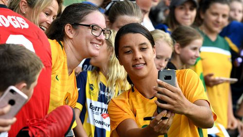 Ahead of next year's FIFA Women's World Cup, Kerr said she's looking forward to the test while being watched by the new generation of football fans falling in love with her.