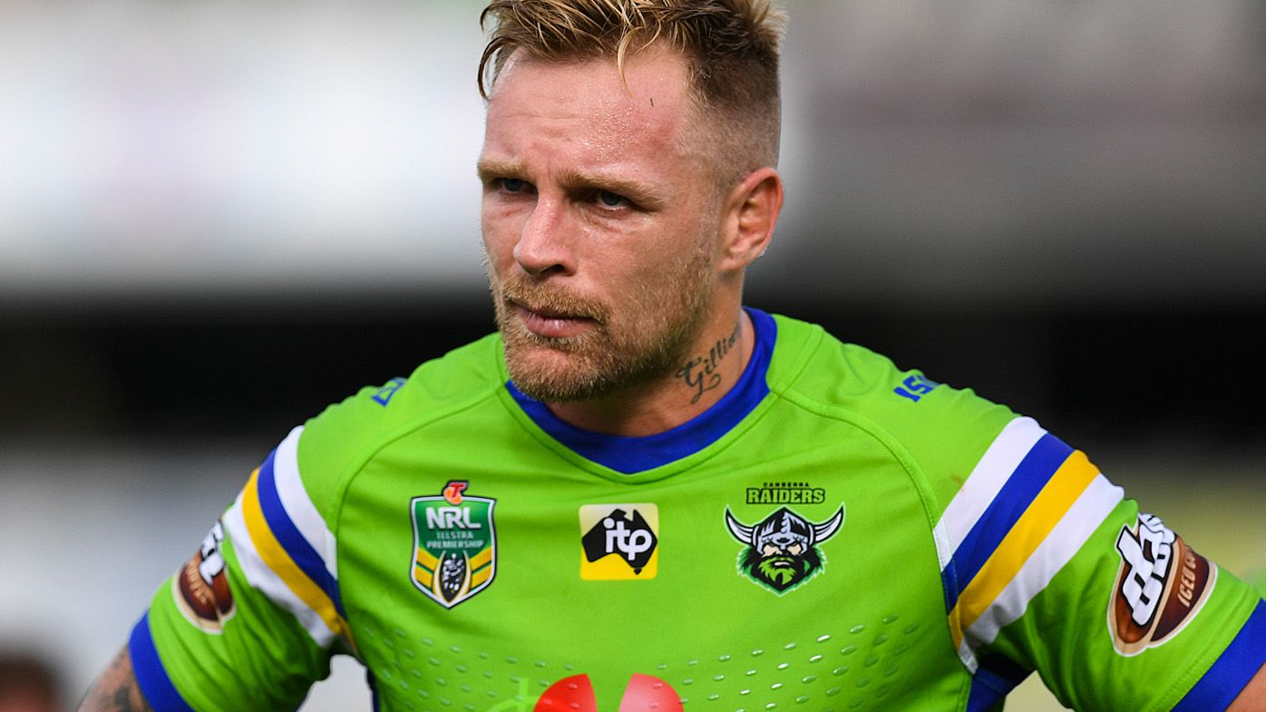 NRL: Blake Austin axed by struggling Canberra Raiders