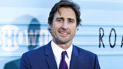 Actor Luke Wilson was in another car and was uninjured. (AAP)