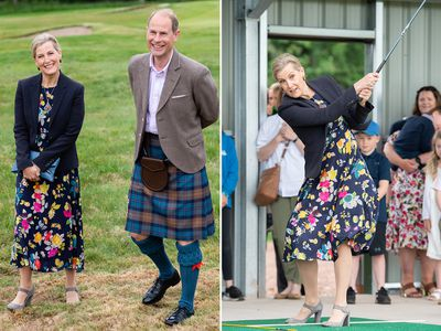 Sophie, Countess of Wessex and Prince Edward visit Scotland, June 2021