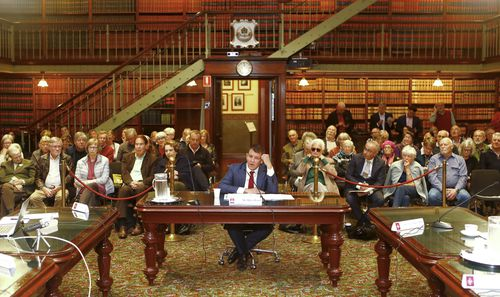 Mr Baird denies the controversial decision to move the museum to Parramatta. Picture: AAP