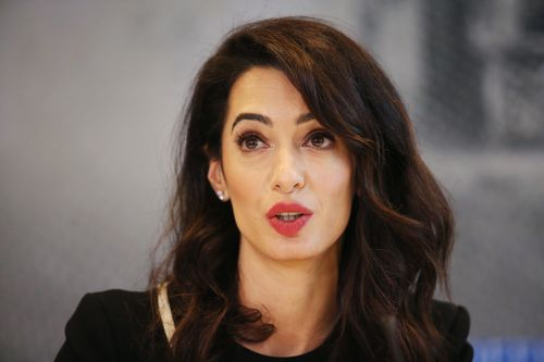 Amal Clooney is among the team of lawyers representing the five-year-old Yazidi girl and her mother and fighting for the human rights of Yazidi people.