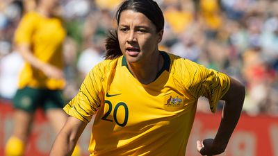 Matildas star Sam Kerr nominated for AFC player of year, again