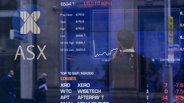 The ASX has followed Wall Street's cue in dropping this week.