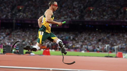 Pistorius competed at both Paralympic and Olympic level. (Getty)