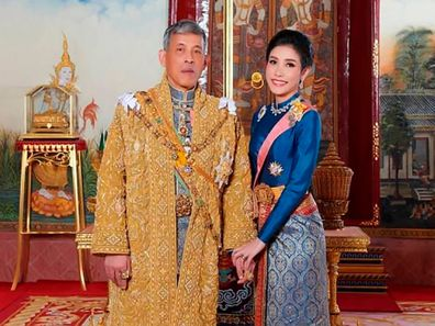 Thai king and consort