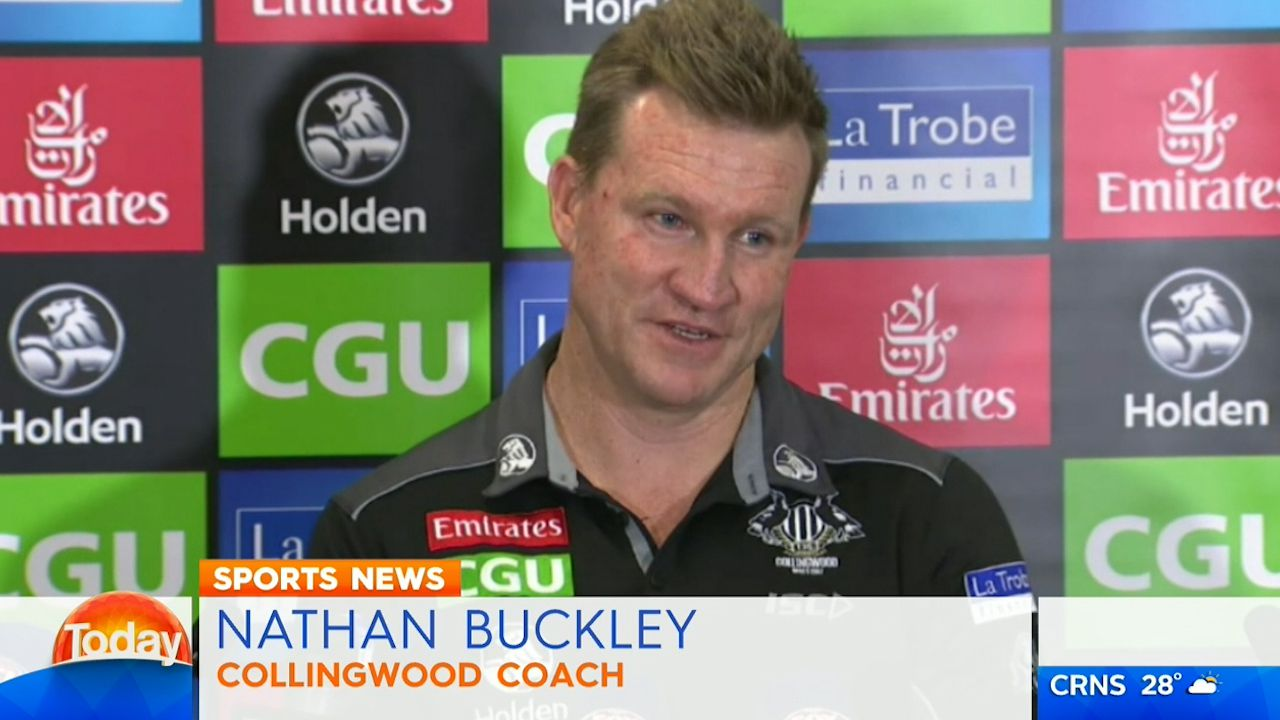 Buckley slams media over coaching future speculation