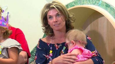Mother hears son's heart beat inside transplant recipient