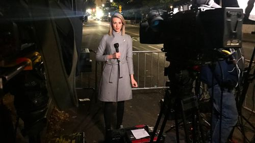 Alice Monfries crosses back to Australia for 9NEWS. (Alice Monfries)