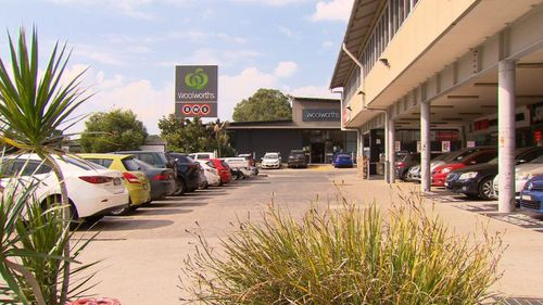 Kay has been charged with grabbing and kissing a 16-year-old girl at Woolworths in Rosehill last week. (9NEWS)