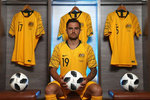 Risdon is expected to play a key role for the Socceroos in Russia. Picture: Getty