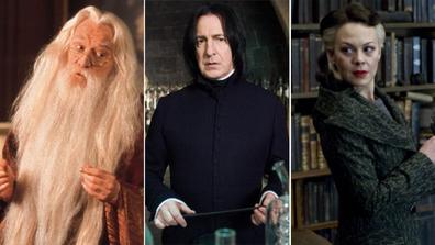 Harry Potter, cast tragedies, actors who died, gallery, Helen McCrory, Alan Rickman, Richard Harris