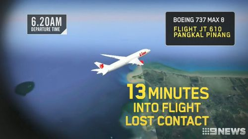 A plane would normally be ascending in the first few minutes of flight, but the Lion Air jet experienced a 726-foot drop over 21 seconds.