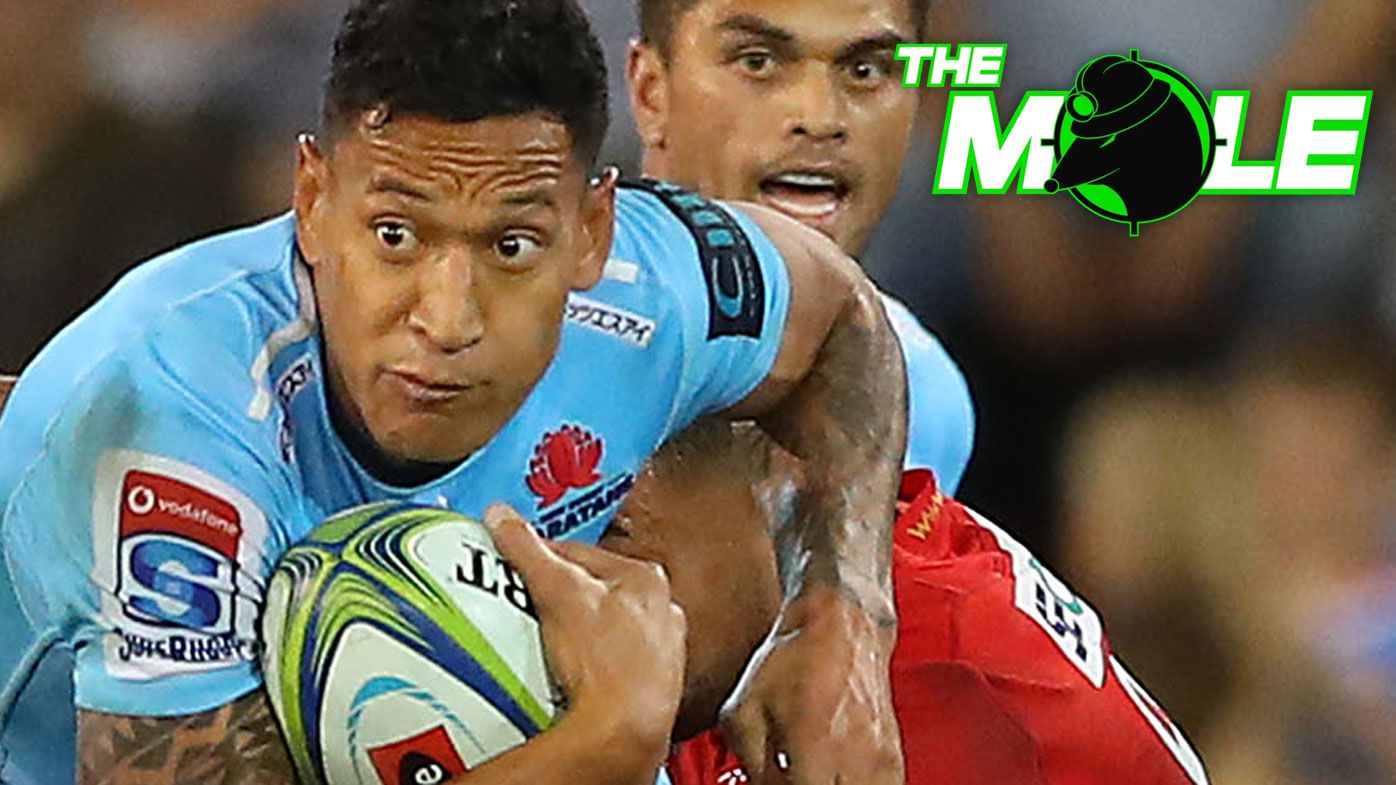The Mole: Israel Folau could make shock rugby league return in coming weeks