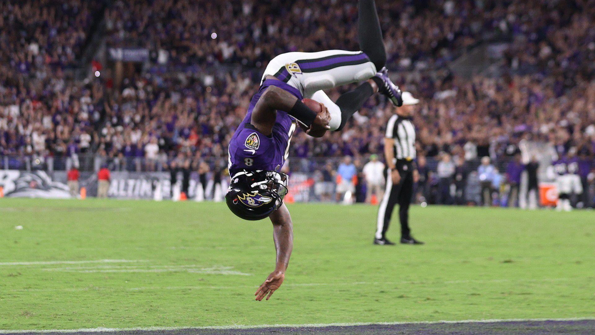 The game-risking gamble that paid off for Baltimore Ravens, Lamar Jackson