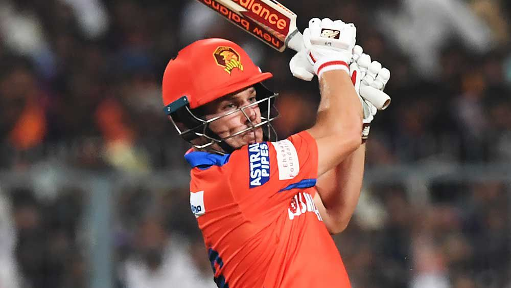 Aaron Finch got Gujarat off to the perfect start in the IPL. (AFP)