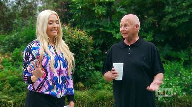 Erika Jayne and Tom Girardi in Real Housewives of Beverly Hills.