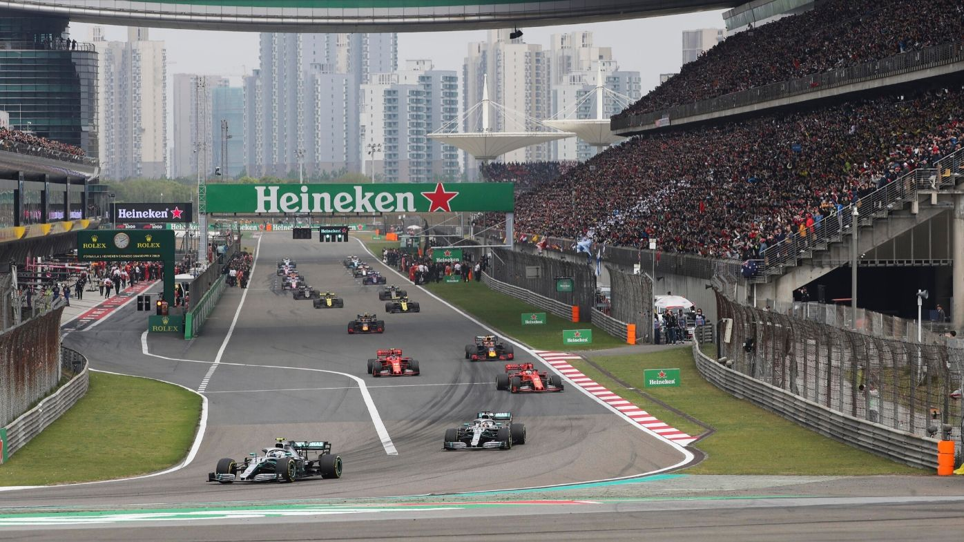 Formula One delays Chinese Grand Prix in Shanghai amid coronavirus fears