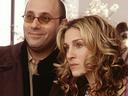 Willie Garson with Sarah Jessica Parker.