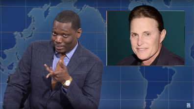 Michael Che, Caitlyn Jenner, Saturday Night Live, Weekend Update, comments