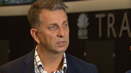 Transport Minister Andrew Constance says his office is reaching out to businesses affected by the lockdown. Picture: 9NEWS