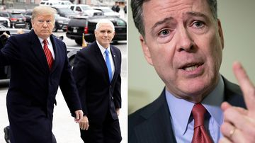 Law enforcement officials became so concerned by US President Donald Trump's behavior in the days after he fired FBI Director James Comey that they began investigating whether he had been working for Russia against US interests, The New York Times reports.