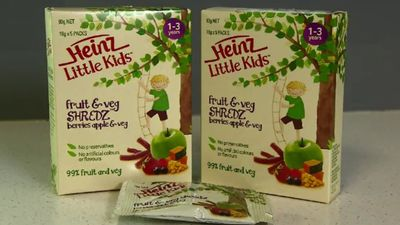 Heinz 'misled' customers with 'healthy' kids snack