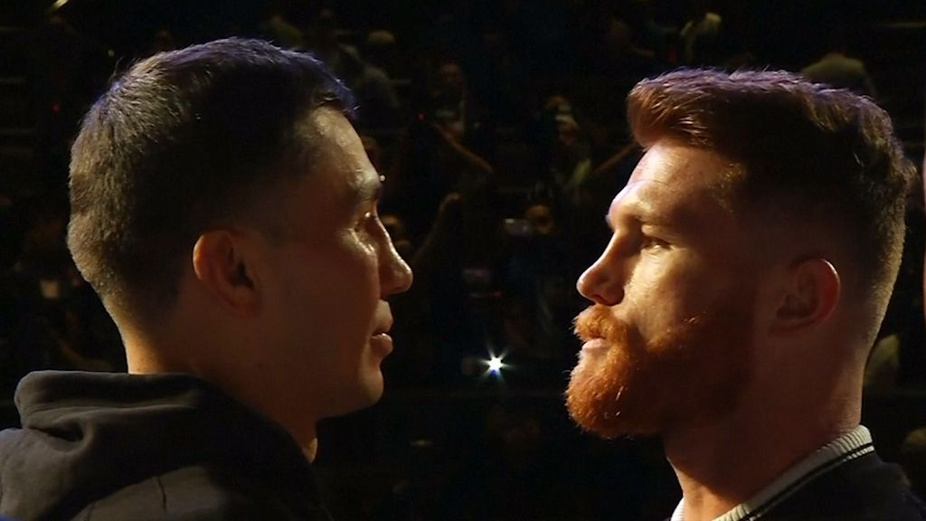 Canelo and Golovkin square off before title bout