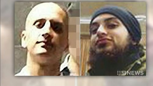 Hussein was friends with Numan Haider. (9NEWS)
