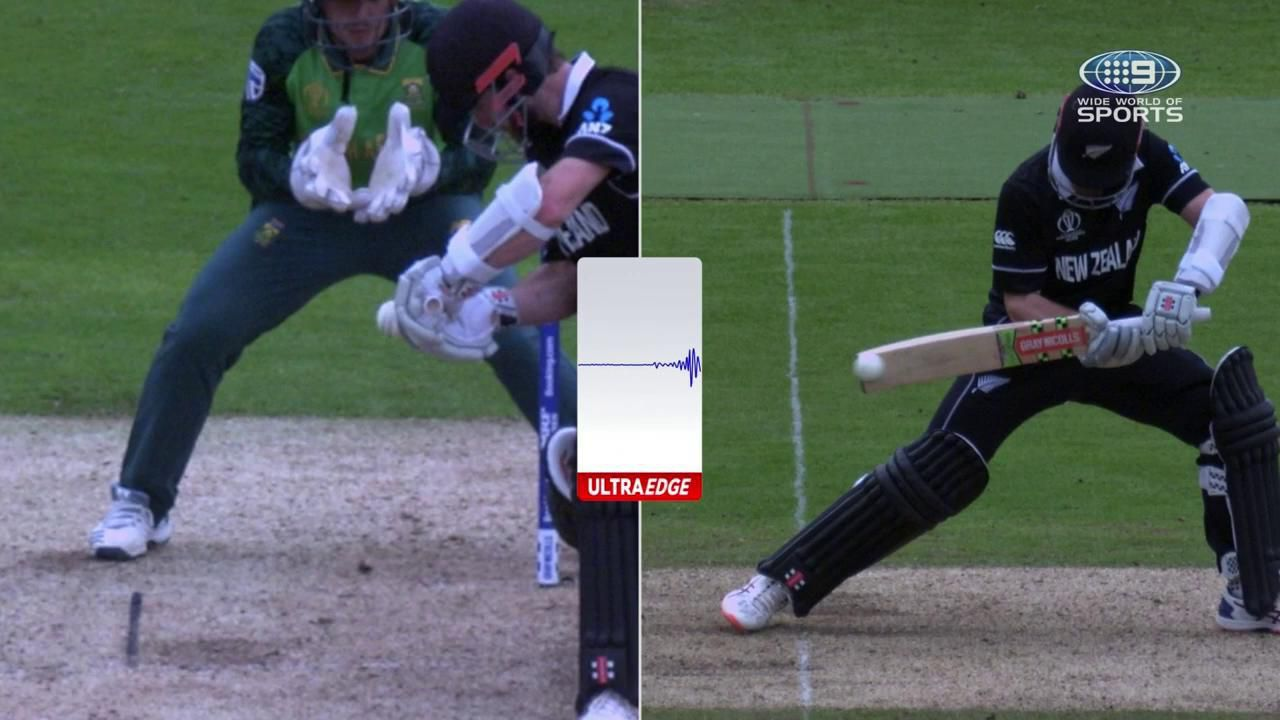 The moment South Africa's Cricket World Cup hopes were dashed